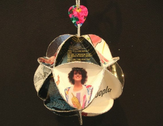 Jefferson Airplane Starship Album Cover Ornament Made Of Record Jackets - Grace Slick, Music