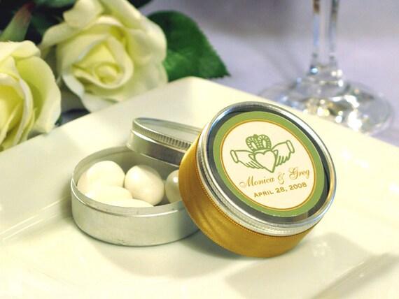 Claddagh Irish Wedding Mint Favor Tins We Can Do By Shadow090109