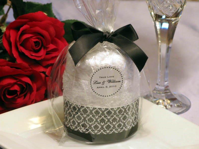 Wedding Gift Towels: DAMASK Towel Cake Favors Bridal Shower Wedding By Shadow090109