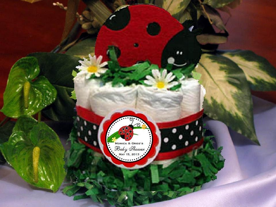 Popular items for ladybug baby favors on Etsy