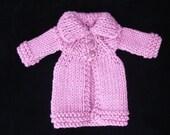 Blythe roll neck Cardigan coat pdf pattern
