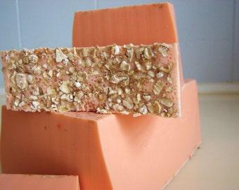 SOAP - 3LB Orange Vanilla Vegan Handmade Soap Loaf, Wholesale Soap Loaves