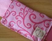 DOOR MUFF - Pink Swirl 'n Hot Pink