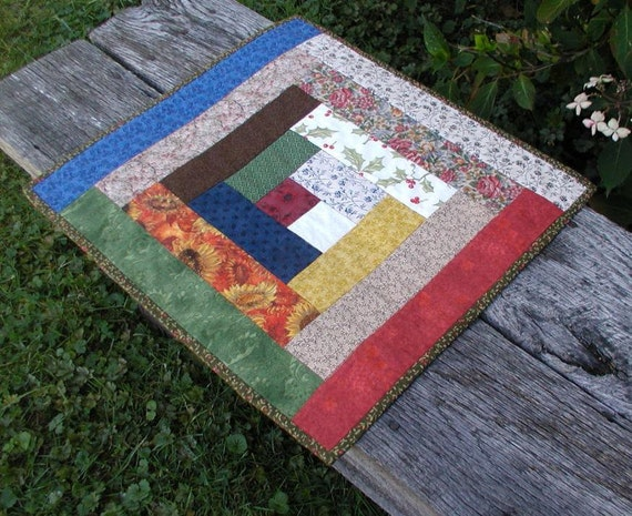 Country Cabin - Log Cabin Quilt