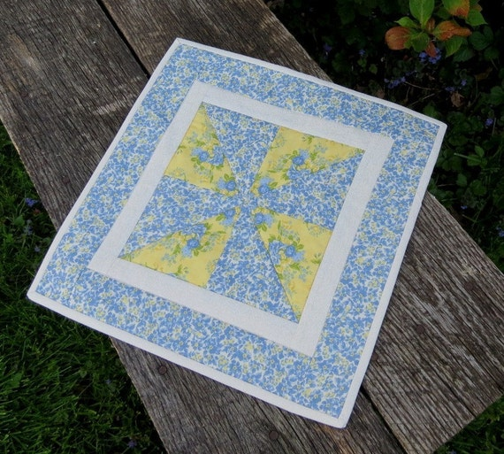 Sunny Skies Quilted Table Runner