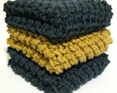 Ravenclaw Eco-Friendly Cotton Dishcloths - Set of 3