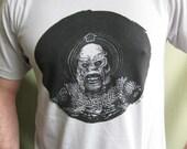 CREATURE artist silkscreen tee shirt MENS sz MEDIUM