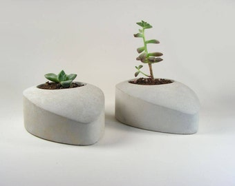Concrete Drop - set of 2