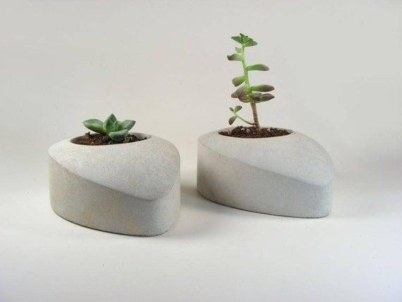 Concrete Drop - set of 2