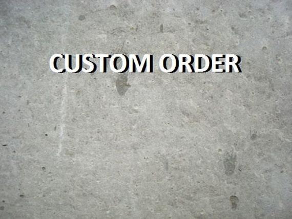 Custom Order for Monica