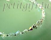 A01 Swarovski Crystal Wedding Bridal Anklet Ankle Bracelet