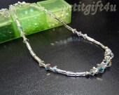 A09 Swarovski Crystal Wedding Bridal Anklet Ankle Bracelet