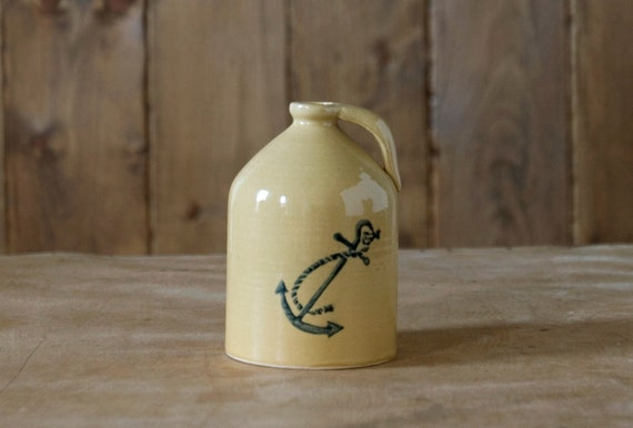 Vintage Ceramic Nautical Jug