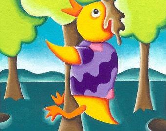 Mr. Chicken is a Tree Hugging Hippie...(13A)