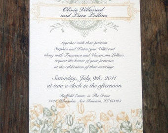Rustic Boho Wedding Invitation Template,Rustic Floral Wedding Printable Invitation,DIY Rustic Monogram Wedding Digital Download,Boho Wedding