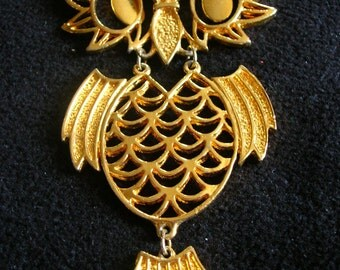 OWL Be Seeing You Vintage Pendant