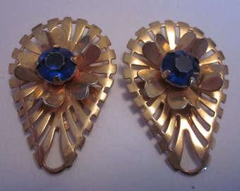 Vintage Gold Tone Clips for Scarf, Shoes, Shirts, Belts Etc.