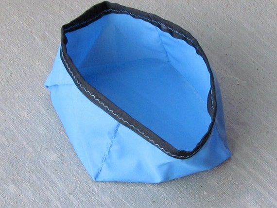 Dog or Cat Pet Bowl Recycled Materials Travel Water
