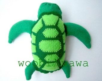 Surf the Sea Turtle- Felt Animals