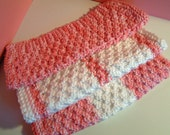 """Dish Cloth Pink """"Country Girl"""" 3-piece set"""
