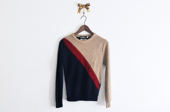 Vintage 70s/ 80s Givenchy Striped Sweater