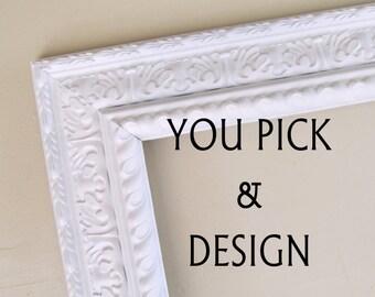 Magnet Board Bulletin Board Magnetic Memo Board Chalk Board Chalkboard Fabric Memo Board Cork Board Kitchen Message Center Home Office Decor