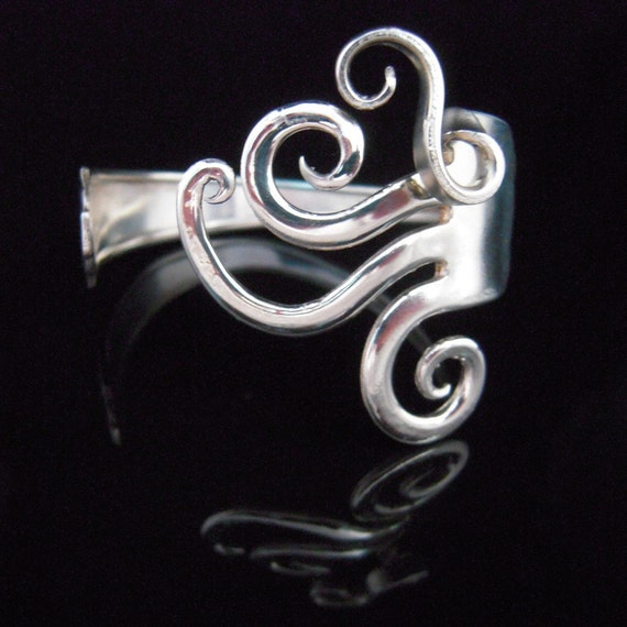 Silver Fork Bracelet in Original Fancy Design