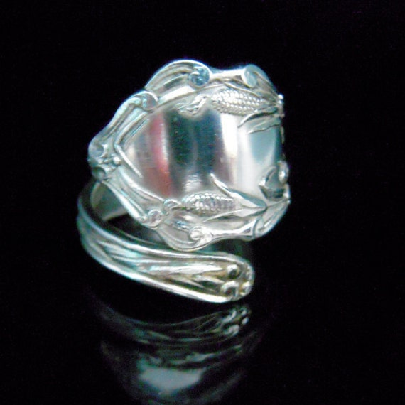 Sterling Silver Spoon Ring - Silverware Jewelry
