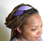 The Leaf Hair Band - Purple & Lilac