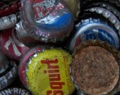 Collection of Vintage Bottle Caps