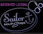 Custom listing for ScarletsRose