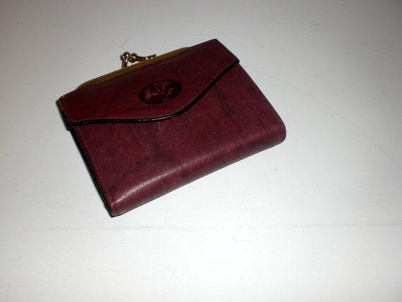 Ladies Buxton leather billfold