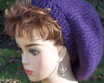Slouch Hat Women Purple