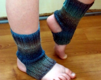 Yoga Socks Knit Pattern Flip Flop Socks