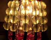 Beaded Night Light Shade - OLD WORLD VINEYARD