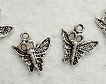 Butterfly Charms - Set of 4