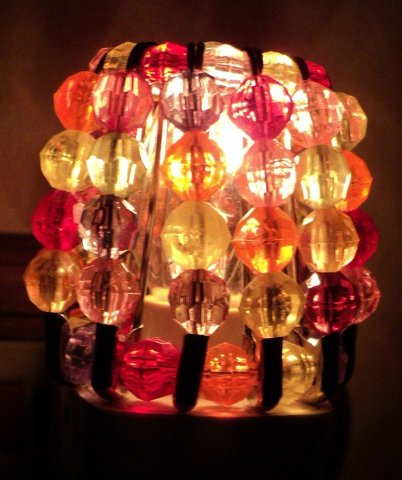 Beaded Night Light Shade - CANDY LAND