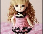 Little Magical girl (pink and black) For Lati yellow /Puki fee/Mui-Chan
