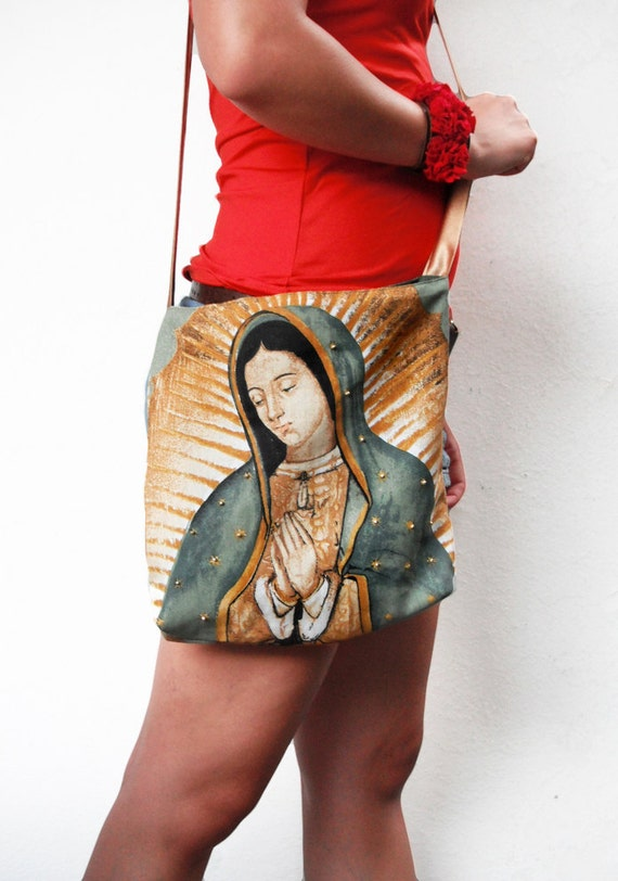 Virgin of Guadalupe / Lady of Guadalupe Tote BAG / Satchel