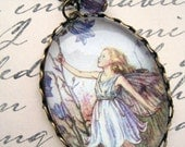 Harebell Flower Fairy Necklace