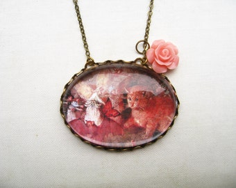 The Cat Among the Fairies Necklace