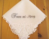 Forever and Always Keepsake Handkerchief