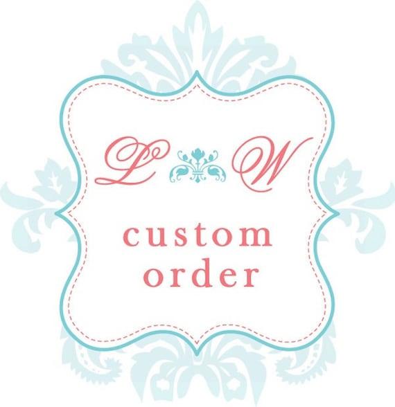 Wedding handkerchiefs Custom order Listing for shelly313