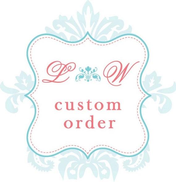Wedding Handkerchiefs Custom Order Listing for debbimerrick