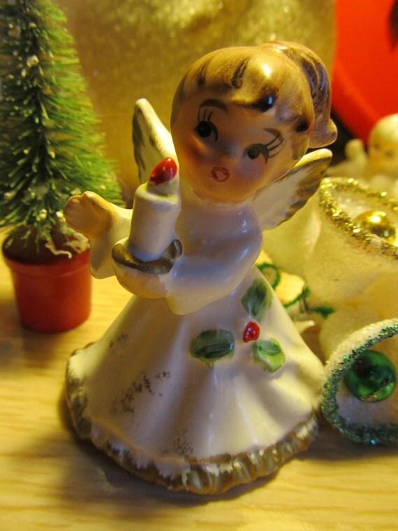Vintage Christmas Angel- Napcoware Japan- Wonderful Retro Christmas