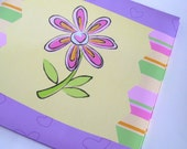 Custom Spring or Summer Vacation 12x12 Scrapbook Album, 20 Pages,  Made to Order