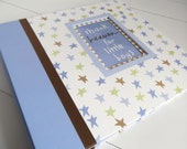 Thank Heaven for Little Boys - Custom Baby 12x12 Scrapbook Album, 20 Pages, Made to Order