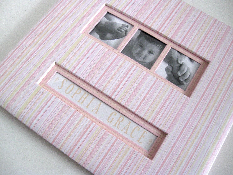 How to scrapbook a baby album -  Zoom