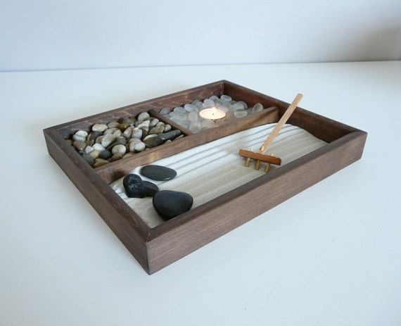 Mini Zen Garden Great for home or office desk