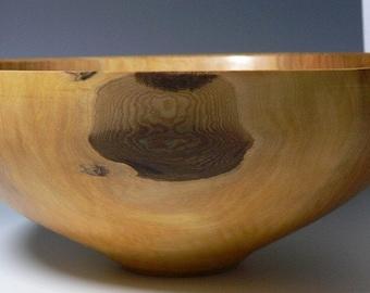 Large Hand Turned Maple Bowl
